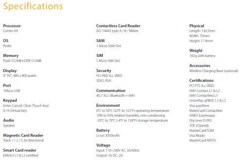 mini, ice, mypos, pos, eftpos, mobile, wireless, terminal, equinox, ventures, portable, τερματικό, μηχανάκι, φορητό